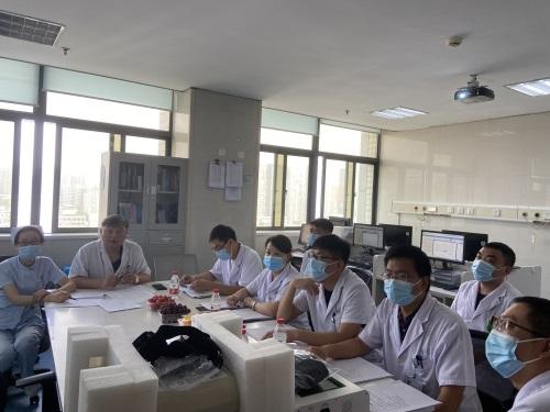 超声透药仪郑州市中心医院启动会风采2