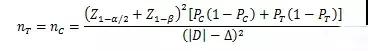 样本量估算公式