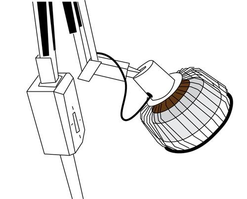 红外线治疗设备示意图