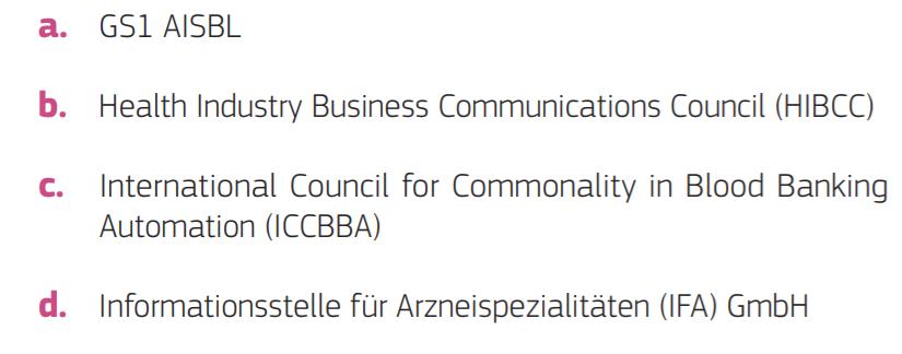 根据2018年底发起的申请呼吁,欧盟委员会指定了下列实体: